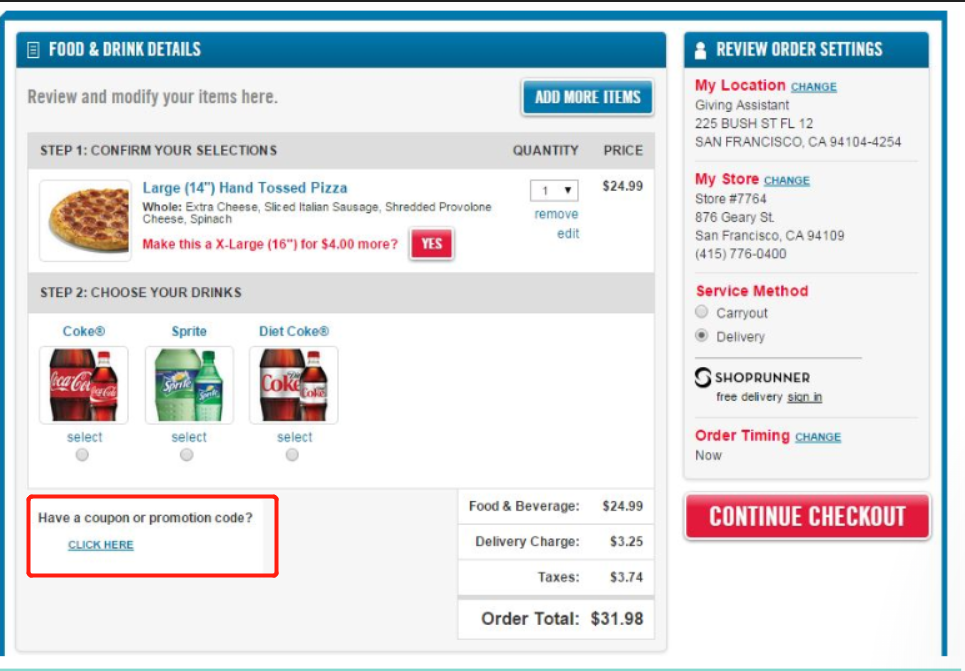 Domino's Coupons 01