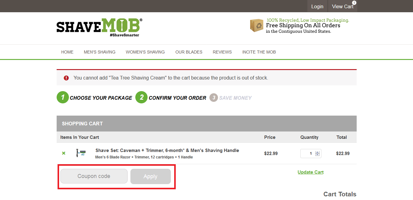 Shave Mob Coupons